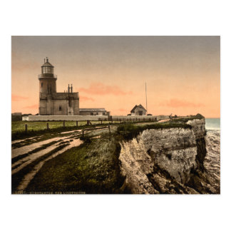 The Old Lighthouse, Hunstanton, Norfolk, England Postcard