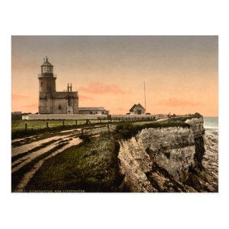 The Old Lighthouse, Hunstanton, Norfolk, England Postcard