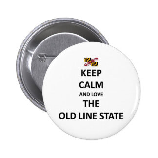 The Old Line State Pins