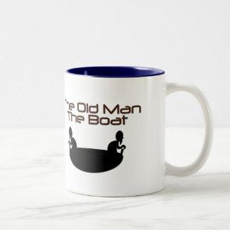 The Old Man Two-Tone Coffee Mug