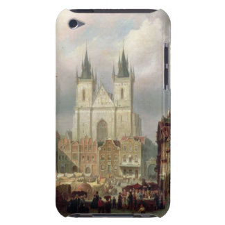 The Old Market Place at Prague, 1881 (oil on canva iPod Touch Cover