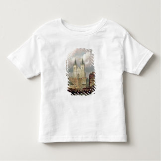 The Old Market Place at Prague, 1881 (oil on canva Toddler T-Shirt