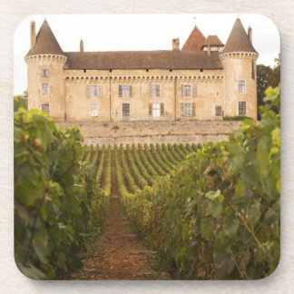 The old medieval Chateau de Rully in the Cote Beverage Coasters