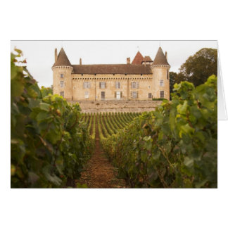 The old medieval Chateau de Rully in the Cote Card