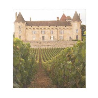 The old medieval Chateau de Rully in the Cote Notepad