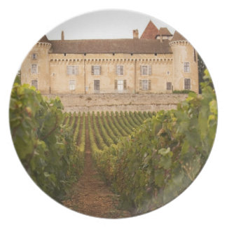 The old medieval Chateau de Rully in the Cote Plate