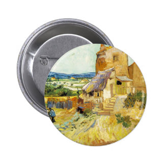 The Old Mill 6 Cm Round Badge