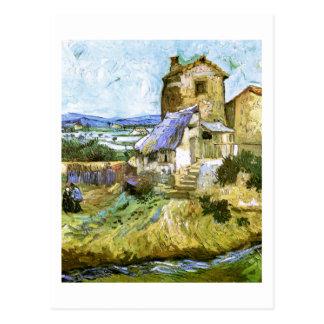 The Old Mill Van Gogh Fine Art Postcard