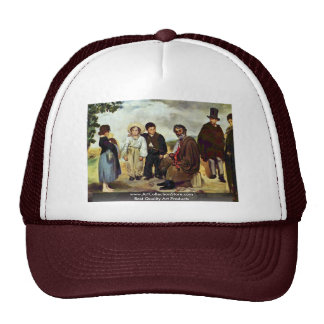 The Old Musician By Manet Edouard Trucker Hat