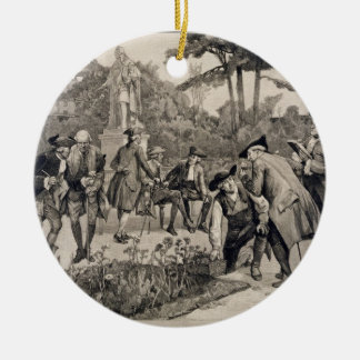 The Old Physic Garden of the Society of Apothecari Christmas Ornament