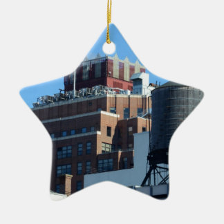 The Old Port Authority Building Ceramic Star Decoration