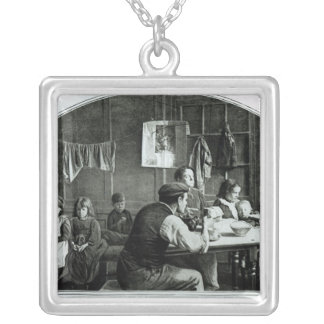 The Old Room in Slumland Silver Plated Necklace