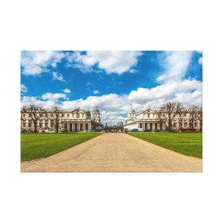 The Old Royal Naval College, Greenwich, England Canvas Print