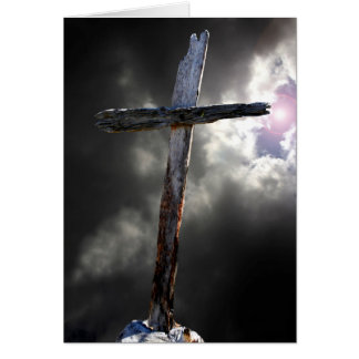 The Old Rugged Cross Card