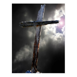 The Old Rugged Cross Post Card
