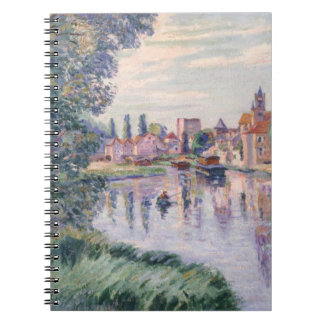 The Old Samois, c.1900 (oil on canvas) Notebook