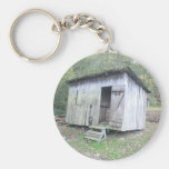 The Old Shed Basic Round Button Key Ring