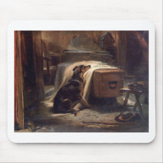 The Old Shepherd's Chief Mourner by Edwin Henry Mouse Pad