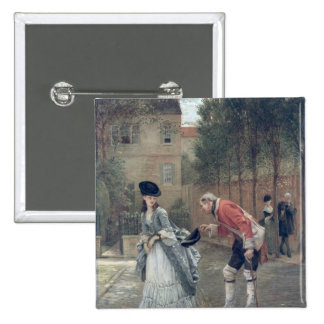 The Old Soldier, 1869 15 Cm Square Badge