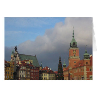 The Old Town, Warsaw Greeting Card