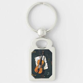The Old Violin Key Ring