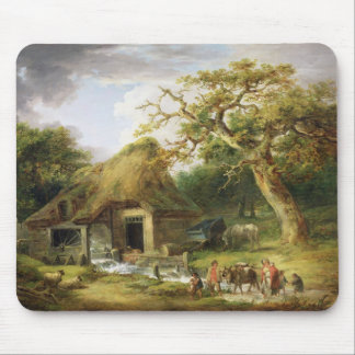 The Old Water Mill, 1790 (oil on canvas) Mouse Mat