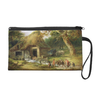 The Old Water Mill, 1790 (oil on canvas) Wristlet