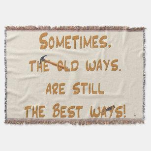 The Old Ways Throw Blanket
