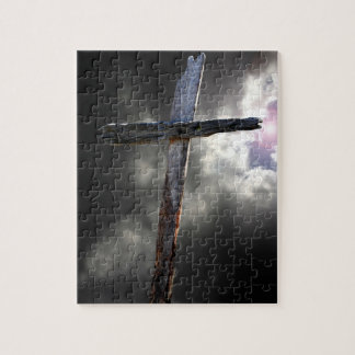 The Old Wooden Cross Jigsaw Puzzle