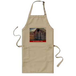 THE OLD WOODEN SHED LONG APRON