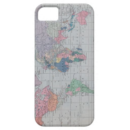 The Old World Vintage Map Collection iPhone 5 Case