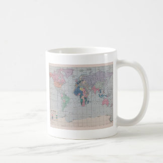 The Old World Vintage Map Collection Coffee Mugs