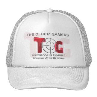 The Older Gamers Baseball Cap - Red Logo