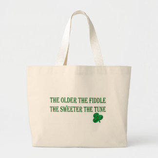 THE OLDER THE FIDDLE CANVAS BAG