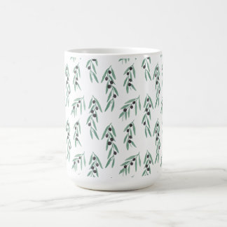 The Olive Pattern Coffee Mug