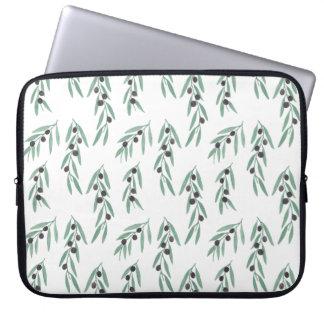 The Olive Pattern Laptop Sleeve