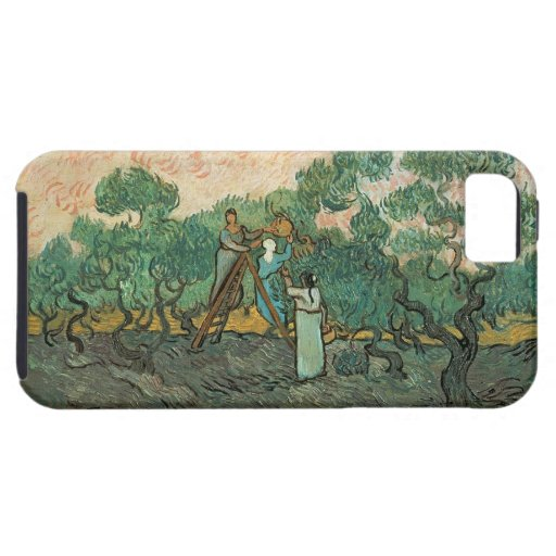 The Olive Pickers, Saint-Remy, 1889 (oil on canvas iPhone 5 Cover
