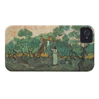 The Olive Pickers Saint-Remy 1889 oil on canvas iPhone 4 Case-Mate Cases