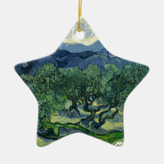 The Olive Trees by Van Gogh Fine Art Christmas Ornament