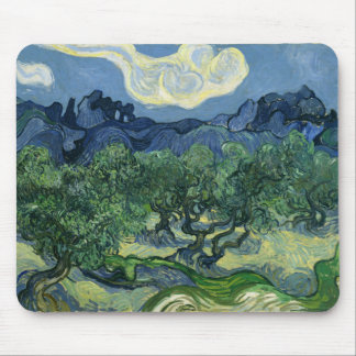 The Olive Trees by Van Gogh Fine Art Mouse Mat
