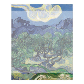 The Olive Trees by Vincent Van Gogh 11.5 Cm X 14 Cm Flyer