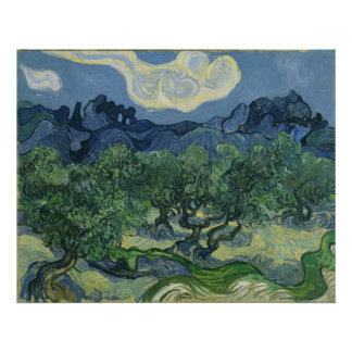The Olive Trees by Vincent Van Gogh Poster