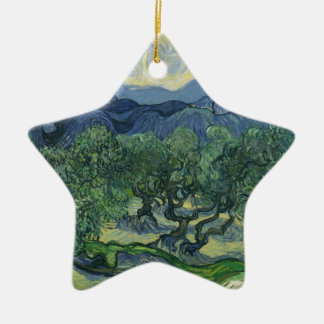The Olive Trees - Van Gogh Christmas Ornament