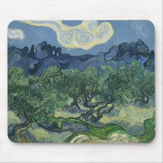 The Olive Trees Van Gogh Mouse Mat
