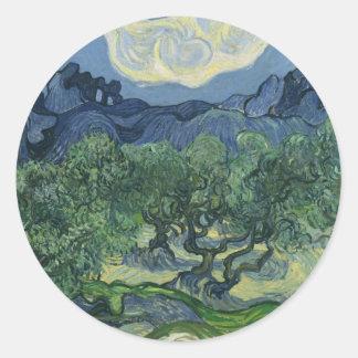 The Olive Trees - Van Gogh Sticker