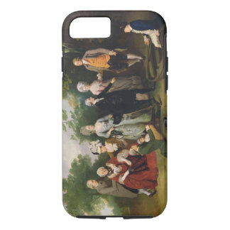 The Oliver and Ward Families in a Garden, c.1788 ( iPhone 8/7 Case