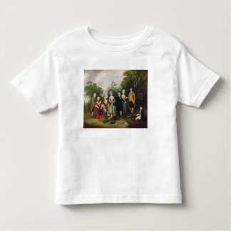 The Oliver and Ward Families in a Garden, c.1788 ( Toddler T-Shirt