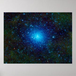 The Omega Centauri Star Cluster Poster