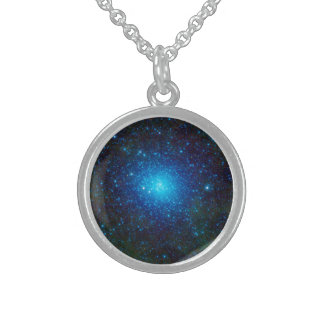 The Omega Centauri Star Cluster Round Pendant Necklace