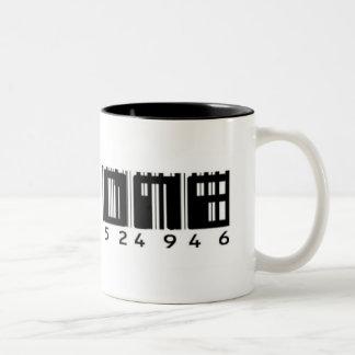 The One - Bar Code UPC Drinkware Mug